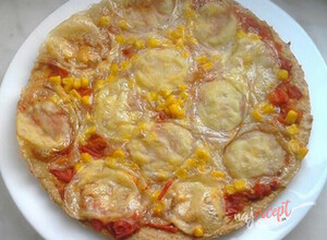Recept Tuniaková pizza