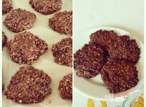 Recept Choco-berries oat cookies