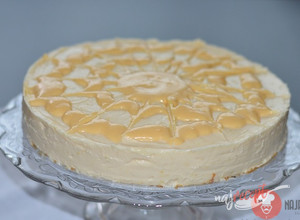 Recept Lemon cheesecake